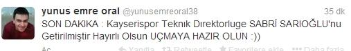 Kayserispor Taraftarlarından Bomba T.D Twitleri galerisi resim 6