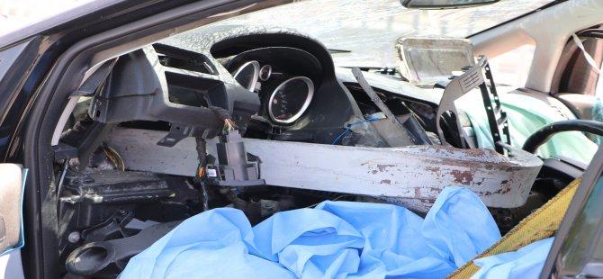 Kocasinan Beydeğirmeni yolunda feci kaza: 1 ölü, 4 yaralı