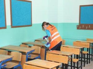 Talas Belediyesi dezenfeksiyon çalışması yaptı