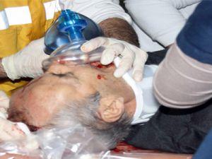 Aydınlıkevler Mahallesi'nde  Uçan Çatının  Altında Kalan Bir Kişi Ağır Yaralandı