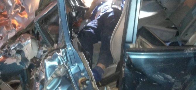 Eskişehir Bağları rampasında trafik kazası: 1 ölü, 3 yaralı