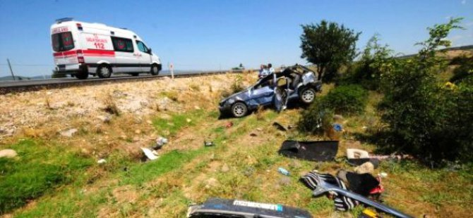 Pınarbaşı ilçesinde trafik kazası: 1 ölü, 3 yaralı