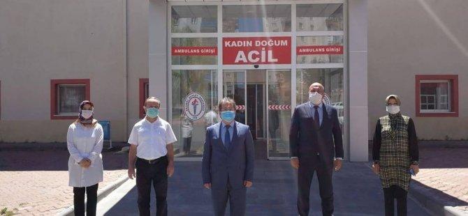 Erkilet'te kadın doğum hastanesi hasta kabulüne başladı