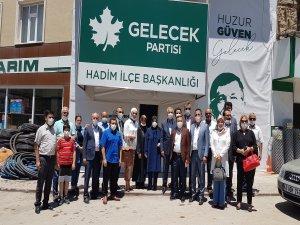 GELECEK PARTİSİ İLÇE KONGRELERİ DEVAM EDİYOR