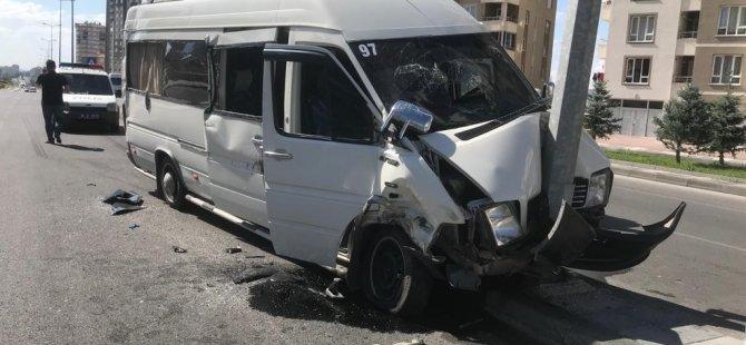 Şehit Taha Carım Bulvarı'nda trafik kazası 7 kişi yaralandı