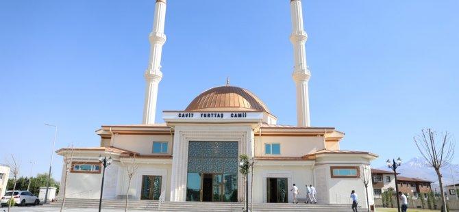 Melikgazi Cavit Yurttaş Cami açılışa hazır