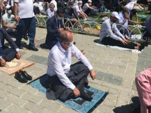 Ayasofya'da Namaz Kılan Tek CHP'li