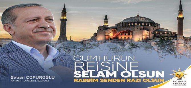 Çopuroğlu'ndan Ayasofya açıklaması: