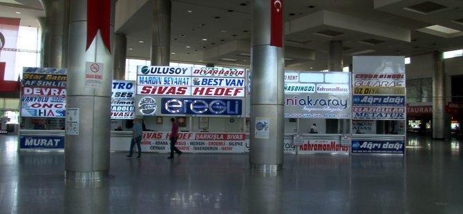 Kayseri Terminal'de sessizlik