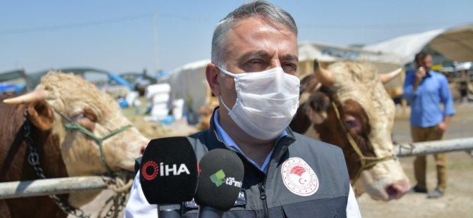 """""""Kurban vasfını taşımayan hayvanların üzerlerini işaretledik, vatandaşlarımız dikkatli olsunlar"""""""