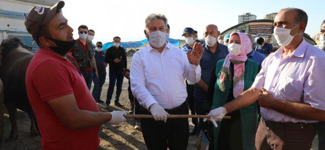 Başkan Palancıoğlu pazarlık etti