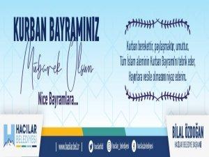 Hacılar Belediyesi Kurban Bayramınız Mübarek Olsun