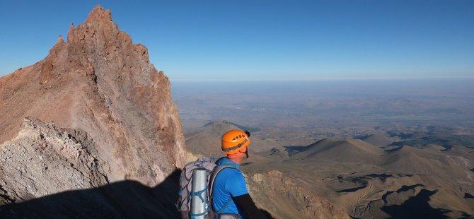 Erciyes'a tırmanış hafta sonu başlıyor