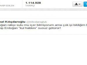 Kılıçdaroğlu'ndan Başbakan'a Rakı Cevabı