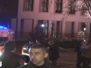 Ankara Adalet Bakanlığı'na ses bombası  atıldı