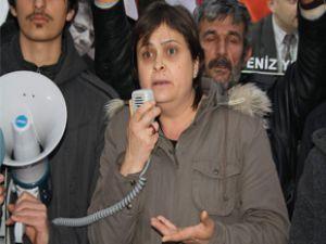KAYSERİ'DE ERGENEKON DAVASINA PROTESTO YÜRÜYÜŞÜ YAPILDI