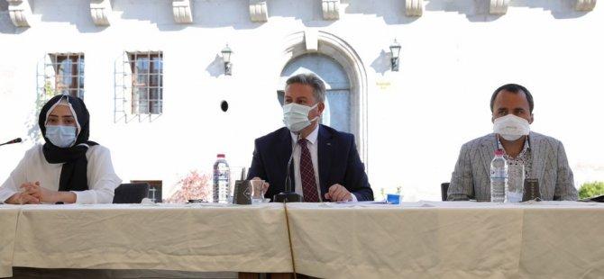 """Palancıoğlu: """"Kent estetiği, çevre ve güvenlik komisyonu önemli"""""""