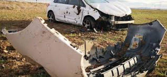 Sarız'da trafik kazası: 1 ölü