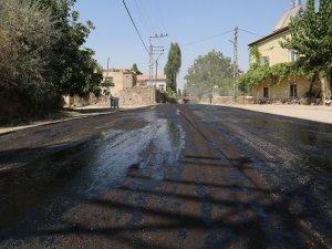 Gazi - Öksüt çevre yolu çalışmalarında sona gelindi