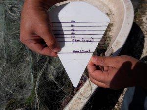 Yasak malzemelerle balık avlayan kişilere işlem yapıldı