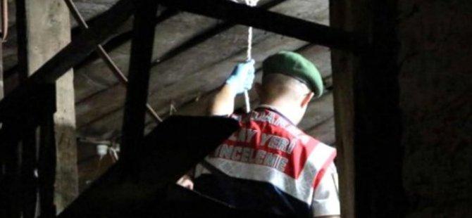 Hacılar'da 50 yaşındaki adam kendini asarak intihar etti