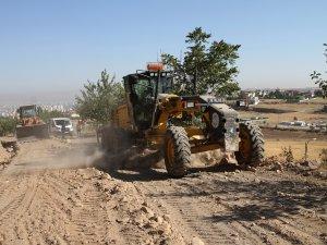 Ali Dağı yollarında yağış tedbirleri