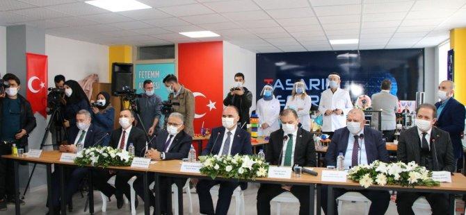 Erciyes Anadolu Holding tarafından Kayseri'de 79 tasarım beceri atölyesi açıldı