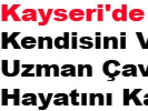 Kayseri'de Kendisini Vuran Uzman Çavuş Hayatını Kaybetti
