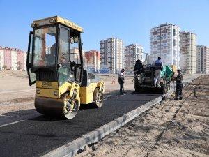 Kazım Karabekir'de asfaltlama çalışmaları tüm hızıyla devam ediyor