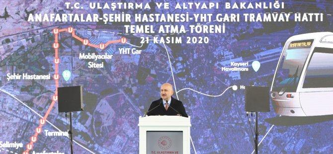 """""""Yerköy-Şefaatli-Kayseri arasına tren hattı inşa edeceğiz"""""""