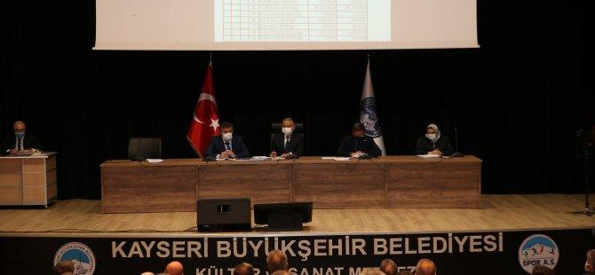 Büyükşehir Belediyesi'nin 2021 yılı bütçesi 1 milyar 500 milyon TL olarak kabul edildi