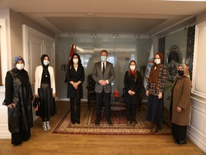 Ak Parti Melikgazi ve Kocasinan Kadın kollarından Başkan Palancıoğlu'na ziyaret