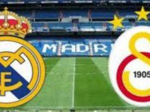 Galatasaray'ın Rakibi Real Madrid oldu