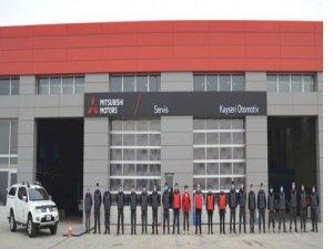 Kayseri otomotiv mitsubishi yetkili servisi Kayseri'de açıldı