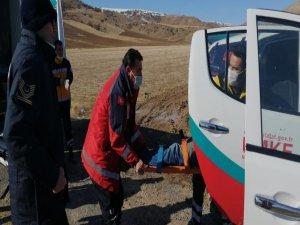 Felahiye'de çamurda kalan vatandaş kurtarıldı