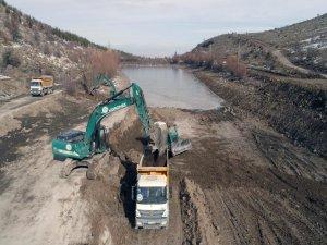 Talas Belediyesi'nden gölet ve mesire alan çalışması