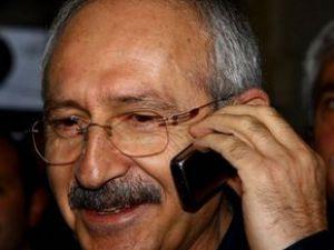 Kılıçdaroğlu Başbakan'a geçmiş olsun telefonu Açtı