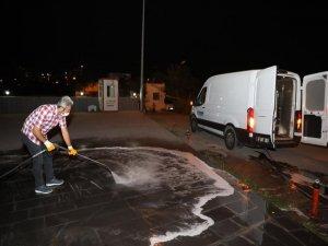 Melikgazi'ye tazyikli yıkama ve kumlama aracı
