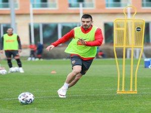 Kayserispor,Trabzonspor hazırlıklarına ara vermeden başladı