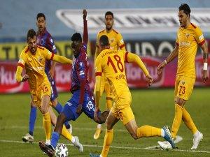Trabzonspor evinde Kayserispor'a 1 puan bıraktı