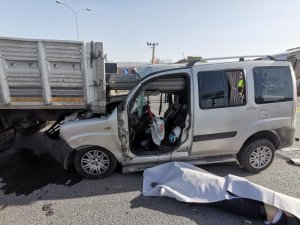 Kayseri Organize sanayi bölgesinde feci kaza