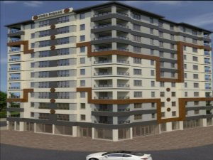 Yoka İnşaat Mithatpaşa'da 11 katlı,40 daireden oluşan lüx daireleri satışa sundu