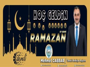 """Cabbar: """"Ramazan'da edindiğimiz nefis terbiyesinin yıl boyunca sürmesini dilerim"""""""