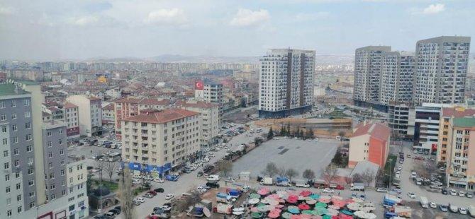 Kayseri'de geçen yıla göre konut satışı yüzde 5 arttı Mart ayında 2 bin konut satıldı
