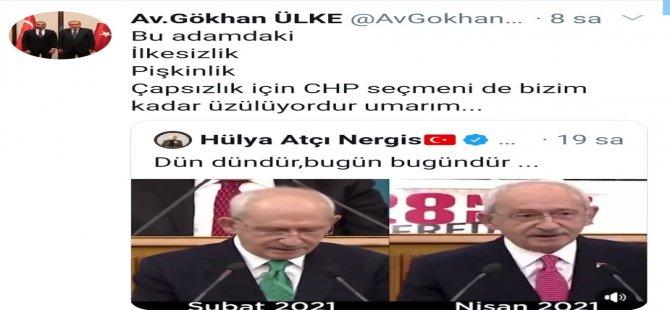 Av. Ülke'den  Kılıçdaroğlu'na sert eleştiri: 'ilkesiz, pişkin, çapsız'