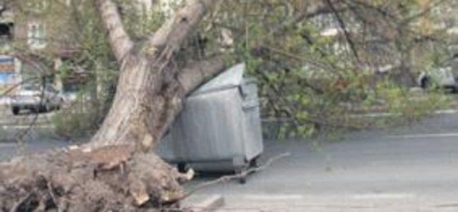 Meteoroloji uyardı: Kayseri'de fırtına uyarısı