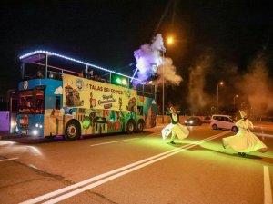 Talas'ta ramazan otobüsü yollarda