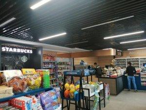 Starbucks kahveleri Opet Halil Aydın Benzin istasyonunda