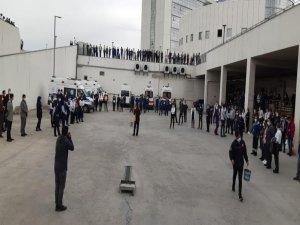 Kayseri Şehir Hastanesi çalışanlarına afet ve yangın farkındalık eğitimi verildi