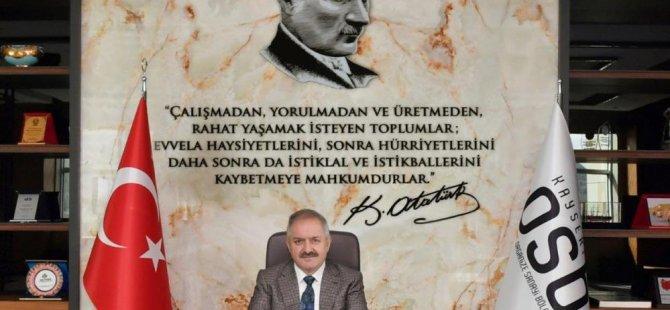 Başkan Nursaçan'dan 23 Nisan mesajı